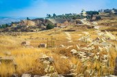A view of the Roman-era ruins of Jerash in Jordan