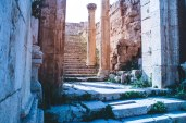 The amazing level of preservation of the ruins at Jerash
