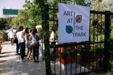 Entrance to Art at the Park